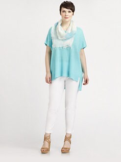 Eileen Fisher, Salon Z - The Notch Linen Tunic