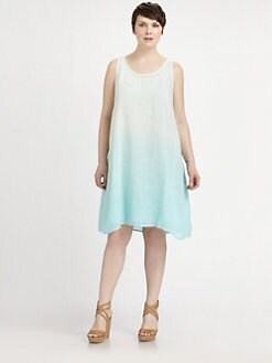 Eileen Fisher, Salon Z - Ombre Linen Dress
