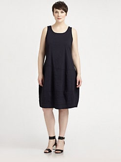 Eileen Fisher, Salon Z - Sleeveless Lantern Dress