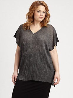 Eileen Fisher, Salon Z - Boxy V-Neck Tunic