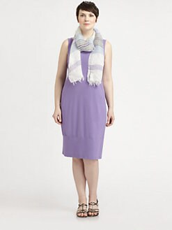Eileen Fisher, Salon Z - Sleeveless Oval Dress