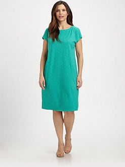 Eileen Fisher, Salon Z - Hemp/Organic Cotton Dress