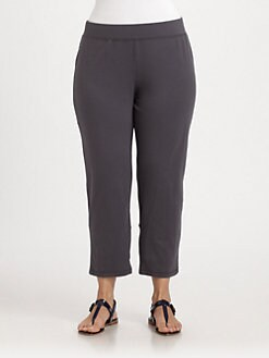 Eileen Fisher, Salon Z - Cropped Yoga Pants
