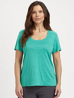 Eileen Fisher, Salon Z - Linen Lucky Tee