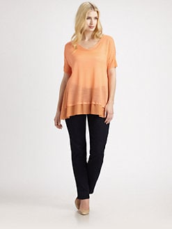 Eileen Fisher, Salon Z - Silk Tussah Top