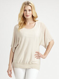 Eileen Fisher, Salon Z - Linen Knit Sweater