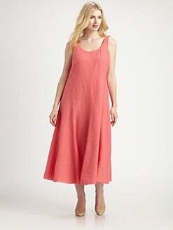 Eileen Fisher, Salon Z - Irish Linen Two-Way Dress