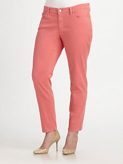 Eileen Fisher, Salon Z - Organic Stretch Cotton Skinny Jeans