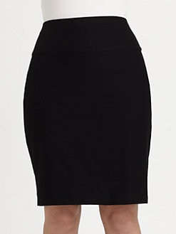Eileen Fisher, Salon Z - Fold-Over Pencil Skirt