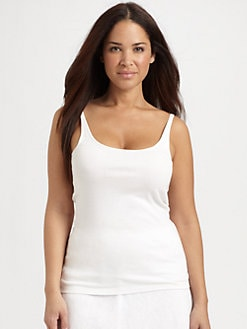 Eileen Fisher, Salon Z - Baby Rib Long Tank