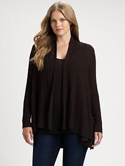 Eileen Fisher, Salon Z - Ribbed Wool Cardigan