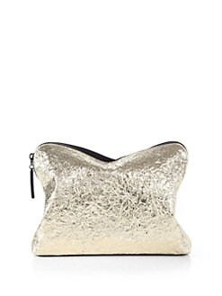 3.1 Phillip Lim - 31 Minute Metallic Cosmetic Zip Case