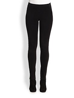 Donna Karan - Moleskin Combo Leggings