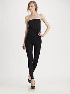 Donna Karan - Refined Matte Jersey Infinity Convertible Jumpsuit