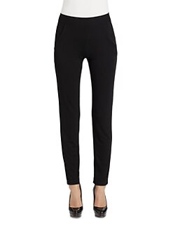 Donna Karan - Stretch Crepe Jersey Pants