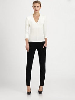Donna Karan - Stretch Jersey Top