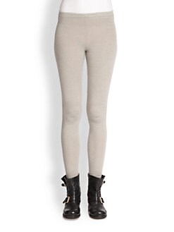 Donna Karan - Stretch Cashmere Knit Leggings
