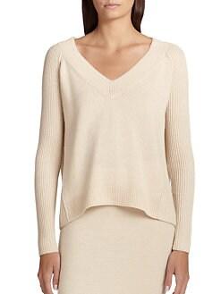 Donna Karan - Cashmere V-Neck Sweater