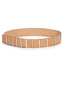 Donna Karan - Leather Hip Belt