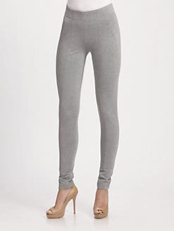 Donna Karan - Double-Knit Stretch Leggings