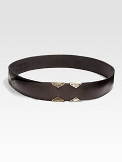 Donna Karan - Leather Artisan Belt