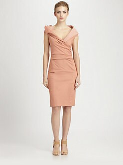 Donna Karan - Sculpted Drape Dress