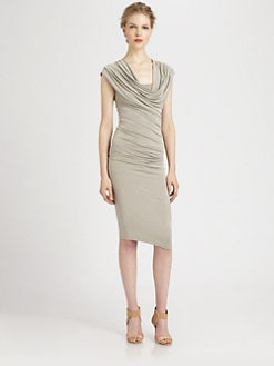 Donna Karan - Cowl Neck Dress