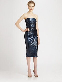 Donna Karan - Sequined Tube Dress