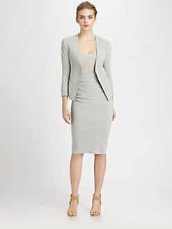 Donna Karan - Trompe L'Oeil Jacket