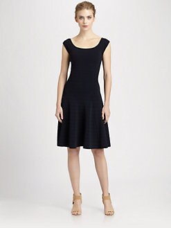 Donna Karan - Fit-And-Flare Dress