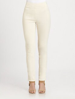 Donna Karan - Slim-Fit Crepe Pants