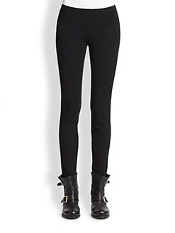 Donna Karan - Paneled Stretch Jersey Pants