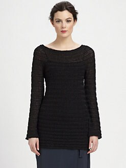 Donna Karan - Wide-Neck Pullover