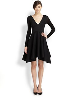 Donna Karan - A-Line Jersey Dress