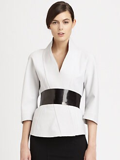 Donna Karan - Belted Kimono Jacket