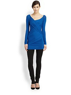 Donna Karan - Asymmetrical Draped Tunic