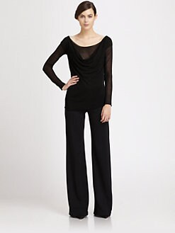 Donna Karan - Cowl Neck Sweater