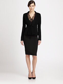 Donna Karan - Shawl-Lapel Blazer