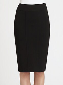 Donna Karan - Stretch Crepe Pencil Skirt