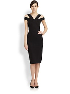 Donna Karan - Off-the-Shoulder Dress