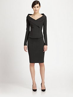 Donna Karan - Off-the-Shoulder Jacket