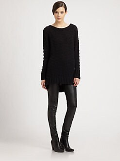 Donna Karan - Knit-Patterned Sweater