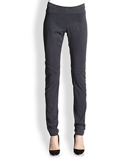 Donna Karan - Paneled Skinny Pants