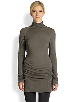 Donna Karan - Draped Double-Layer Tunic