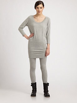 Donna Karan - Cashmere Dolman-Sleeved Tunic