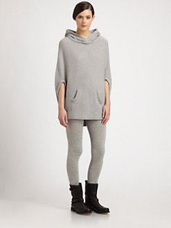 Donna Karan - Hooded Cashmere Dolman-Sleeved Tunic