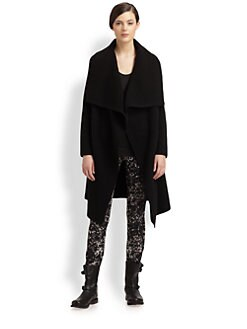 Donna Karan - Draped Cashmere Coat