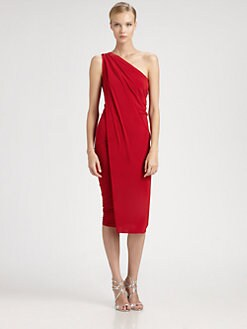 Donna Karan - Asymmetrical Dress