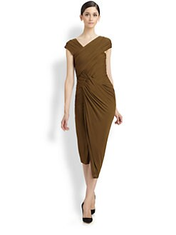 Donna Karan - Draped Knot Dress