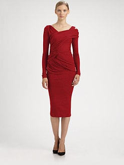 Donna Karan - Stretch Jersey Dress